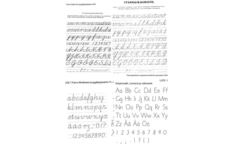 Kaunokirjoitus on kuollut –kauan eläköön kaunokirjoitus!